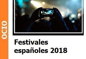 Festivales españoles 2018