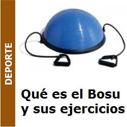 Deporte – El bosu o both-sides-up