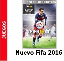 Juego – Nuevo Fifa 2016