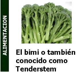 El bimi o también conocido como Tenderstem