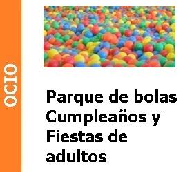 Parque de bolas para adultos