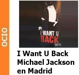 Michael Jackson en el Teatro Calderón con 'I want U back'