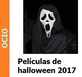 Películas de terror halloween 2017