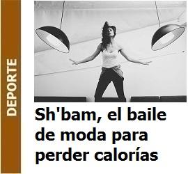 Sh'bam, el baile de moda para perder calorías