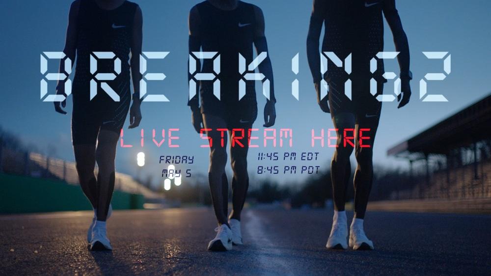 El reto de Nike. Bajar de 2h en una maratón