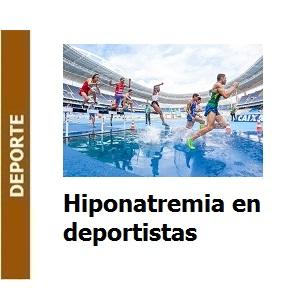 Hiponatremia en deportistas