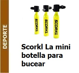 Scorkl La mini botella para bucear
