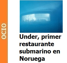 Under, primer restaurante submarino en Noruega
