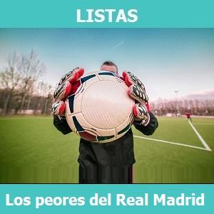Lista los peores fichajes de la historia del Real Madrid