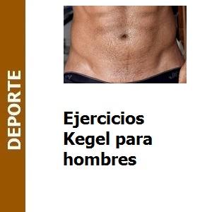 Ejercicios Kegel para hombres