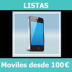 Lista – Los mejores móviles por menos de 100 Euros