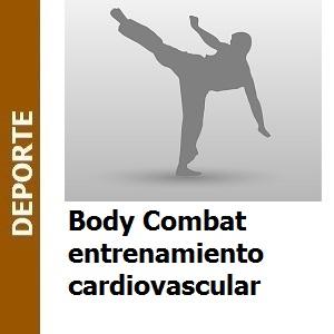 Body Combat entrenamiento cardiovascular