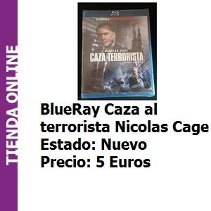 Tienda BlueRay caza al terrorista Nicolas Cage