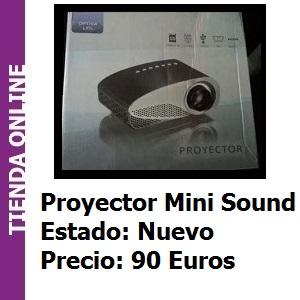 Tienda Proyector Mini Sound