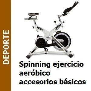 Spinning ejercicio aeróbico accesorios básicos