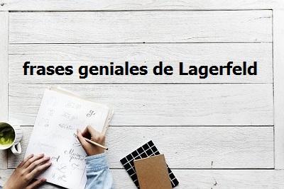 Frases geniales de Lagerfeld