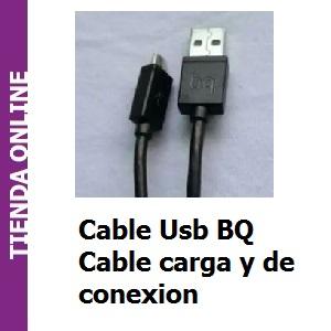 Cable Usb BQ cargador y de conexion al ordenador
