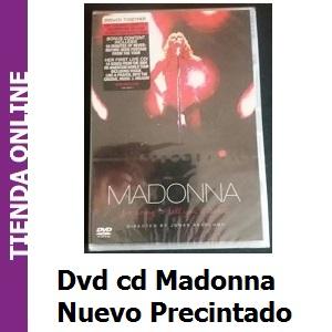 Dvd cd Madonna nuevo precintado